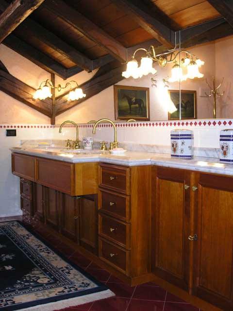 Ванная комната на мансардном этаже - фото 10.